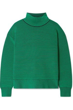 Nagnata | + NET SUSTAIN striped ribbed organic cotton turtleneck sweater | NET-A-PORTER.COM