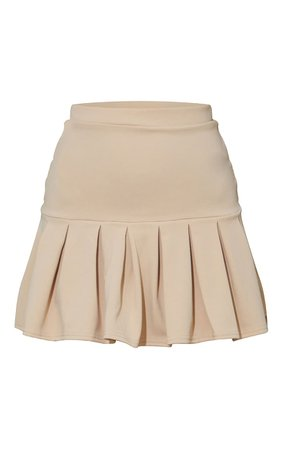 Stone Step Hem Skater Skirt | Skirts | PrettyLittleThing USA