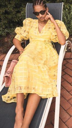 DREAM Dolly Wrap Dress