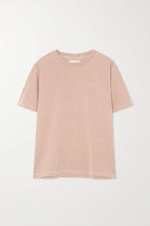 Hudson Cotton-jersey T-shirt - Pink