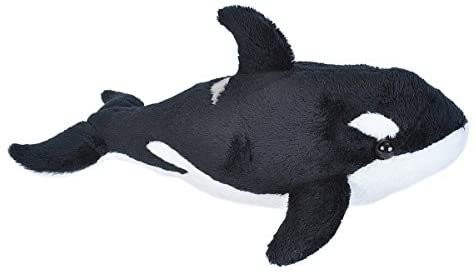 Amazon.com: Wild Republic Orca Plush, Stuffed Animal, Plush Toy, Sea Animals, Gifts for Kids, Sea Critters 11 inches: Toys & Games