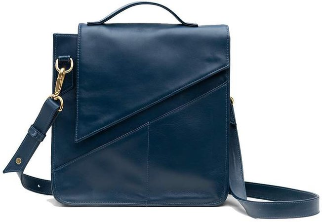 Holly & Tanager - Wanderer Crossbody Purse In Navy