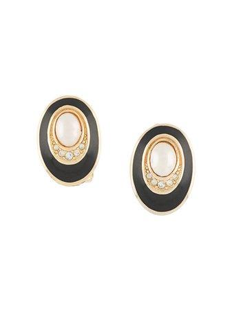 Christian Dior, clip-on earrings