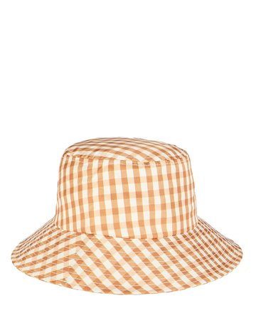 Loeffler Randall Ivy Gingham Bucket Hat   INTERMIX®