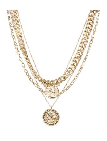 Gold Stacked Chain