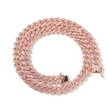 PINK Cuban Link Necklace |9MM – MissFiercy