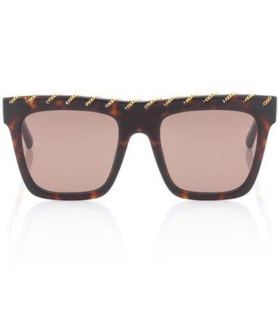 Falabella Chain square sunglasses