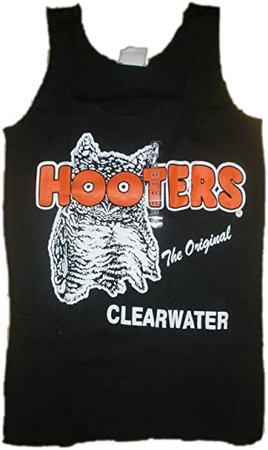 Hooters Clearwater Uniform Black Tank Top at Amazon Women's Clothing store