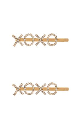 8 Other Reasons XOXO Set in Gold | REVOLVE