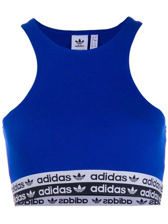 Adidas Collegiate Crop Top - Farfetch