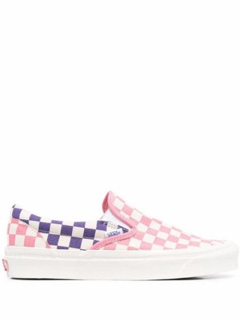 Vans checked slip-on sneakers - FARFETCH
