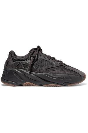 adidas Originals | Yeezy Boost 700 mesh and suede sneakers | NET-A-PORTER.COM