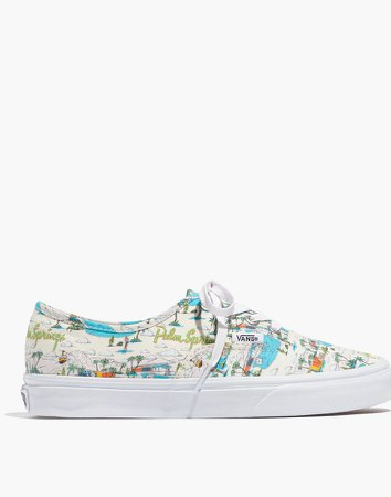 Vans Unisex Authentic Lace-Up Sneakers in Palm Springs