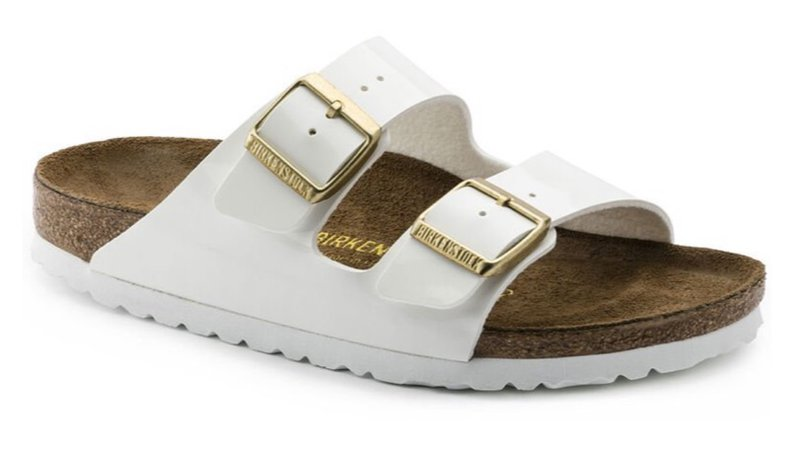 white and gold birks
