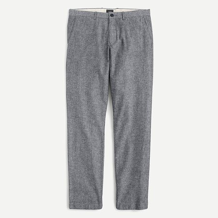 J.Crew: 770™ Straight-fit Chino Pant In Stretch Chambray For Men