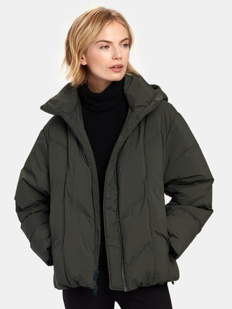 Vince. Hooded Puffer Jacket   Verishop