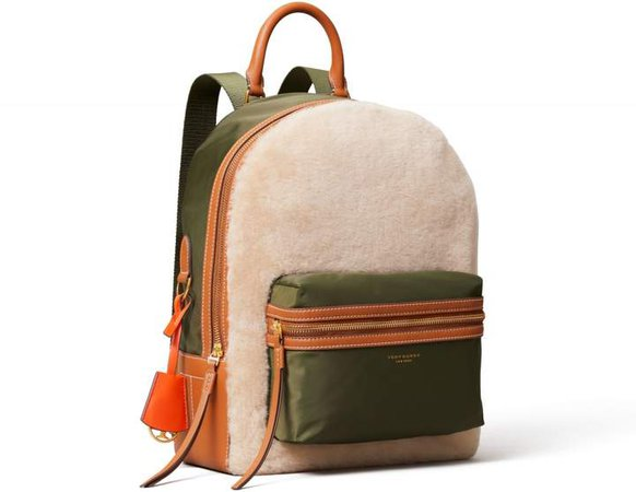 Perry Shearling Backpack
