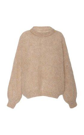 Brunello Cucinelli Oversized Mohair-Blend Sweater