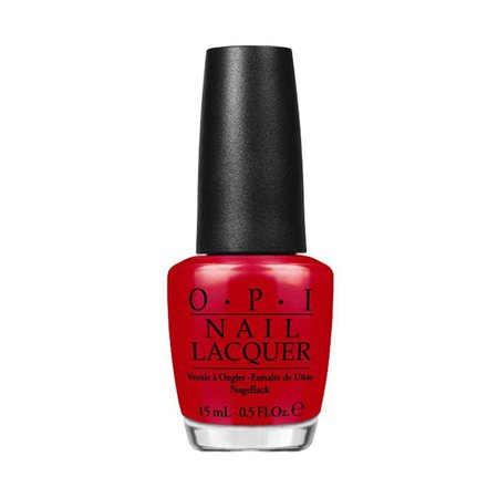 Scarlet-Red Nail Polish (OPI)