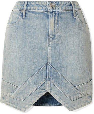 Tempest Denim Mini Skirt - Blue