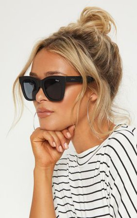 Quay Australila Black After Sunglasses   PrettyLittleThing