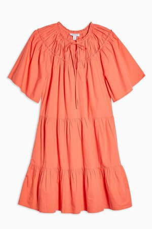 Poplin Smock Mini Dress | Topshop