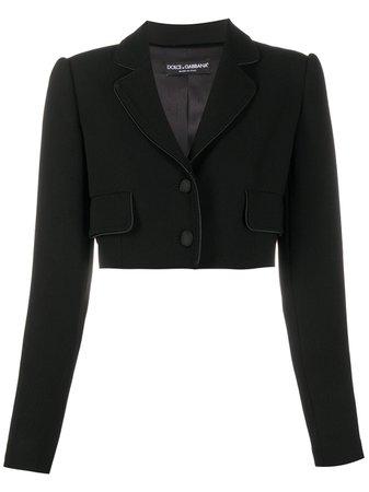 Dolce & Gabbana Cropped Blazer - Farfetch