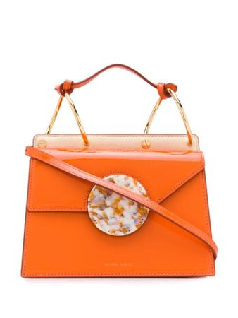 Danse Lente Phoebe Bis Shoulder Bag P19181493 Orange   Farfetch