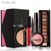 FOCALLURE 8Pcs Cosmetics Makeup Set Powder Eye Makeup Eyebrow Pencil Volume Mascara Sexy Lipstick Blusher Tool Kit for Daily Use – ouobuy.com a one-stop fashion online shop you can always find the perfect product here!