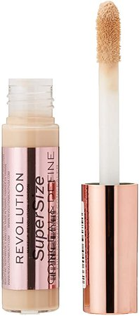 Makeup Revolution Conceal and Define Supersize Concealer C2: Amazon.co.uk: Beauty