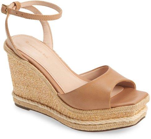 Blossom Wedge Sandal