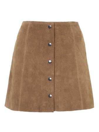 Camel Skirt Beige