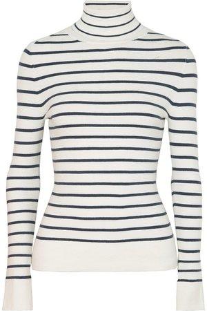 JoosTricot | Striped stretch cotton-blend turtleneck sweater | NET-A-PORTER.COM