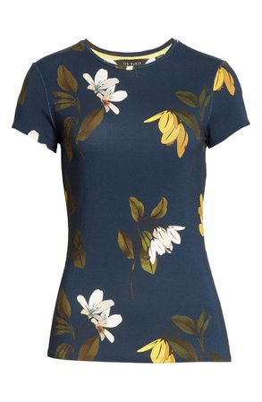 Ted Baker London Pyperr Savanna Fitted Tee   Nordstrom