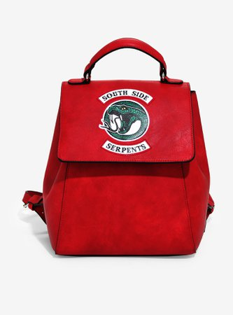 Riverdale Southside Serpents Red Mini Backpack