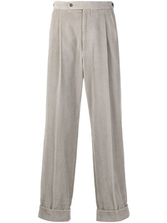 Gucci corduroy straight-leg trousers - FARFETCH