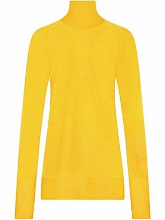 Dolce & Gabbana semi-sheer turtleneck jumper - FARFETCH