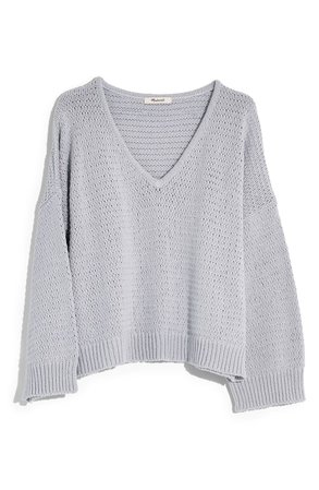 Madewell Breezeway Pullover Sweater   Nordstrom