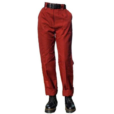 red trousers png
