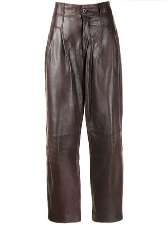 Versace '80S High-Waisted Trousers