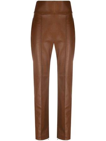 Alexandre Vauthier Pantalones Con Tiro Alto - Farfetch
