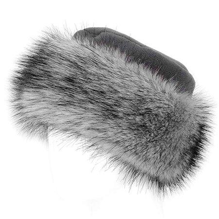 Futrzane Faux Fur Hat with Fleece Winter Ladies Women at Amazon Women's Clothing store: