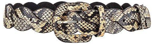Deidre Wavy Pieced Belt Belt