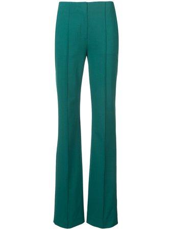 Dvf Diane Von Furstenberg Flared Trousers 11520DVF Green | Farfetch