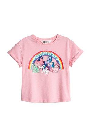 T-shirt com estampado - Rosa/My Little Pony - | H&M PT