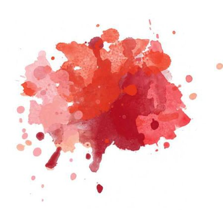 Red Watercolor Filler