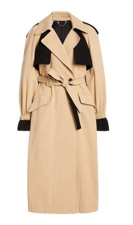 Jonathan Simkhai Paige Belted Cotton Trench Coat