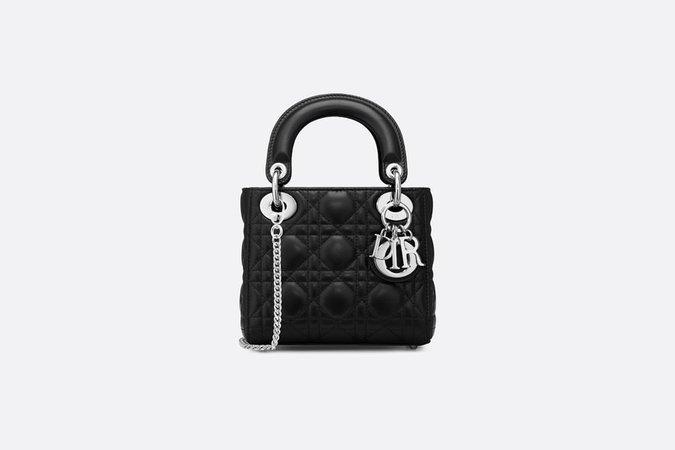 Mini Lady Dior lambskin bag - Bags - Women's Fashion | DIOR