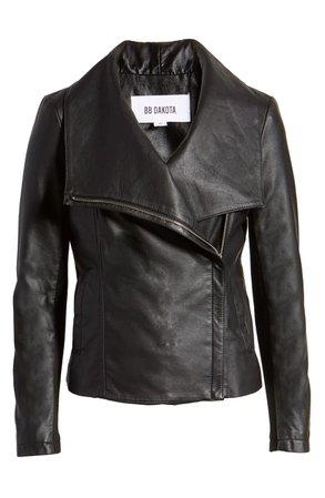 BB Dakota Up to Speed Faux Leather Moto Jacket   Nordstrom