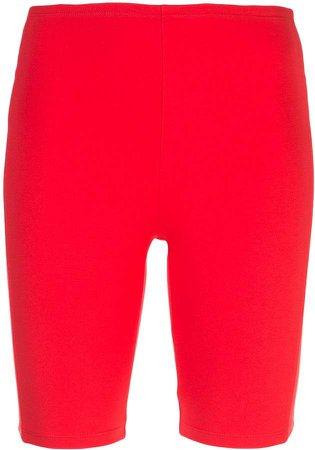 skinny-fit cycling shorts